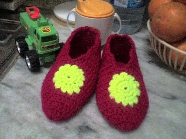 Crochet Toddler Slippers Free Pattern Chinelos Pinterest