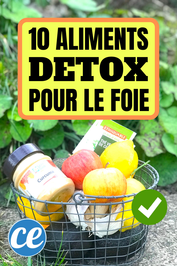 Les 10 Meilleurs Aliments Détox Pour Garder Votre Foie en ...