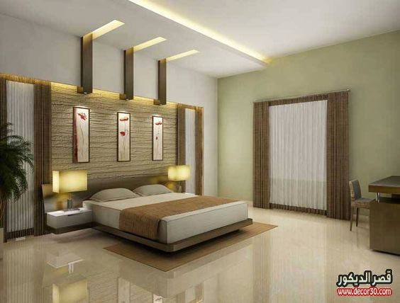 دهانات غرف نوم الوان الحوائط الحديثة Modern Bedroom Paints قصر الديكور Bedroom False Ceiling Design Luxury Bedroom Design Ceiling Design Bedroom