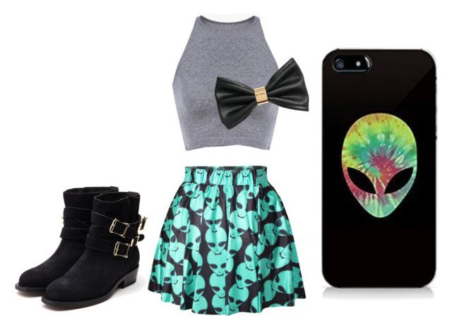 """""""Untitled #32"""" by redvelvetvine on Polyvore featuring H&M and Rupert Sanderson"""