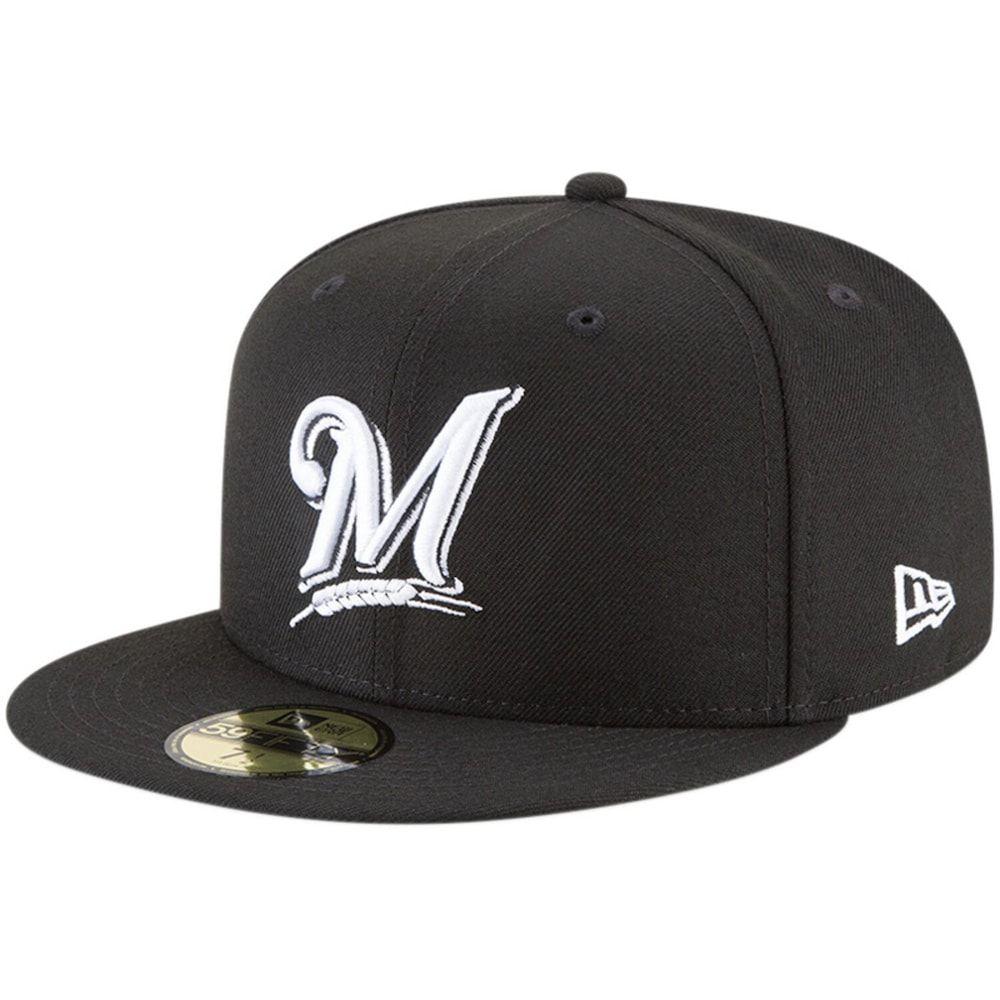 New Era 59Fifty Cap MLB BLACK Milwaukee Brewers