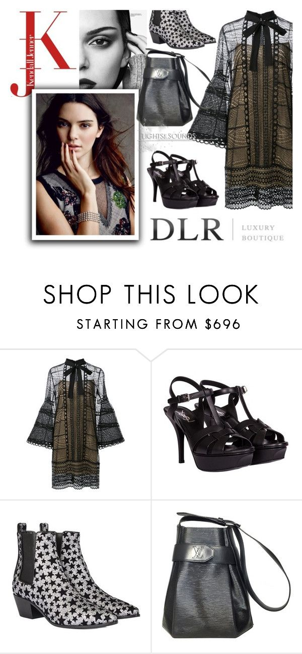 """DLRBOUTIQUE.COM"" by beenabloss ❤ liked on Polyvore featuring Carolina Herrera, Yves Saint Laurent, Louis Vuitton and Zone"