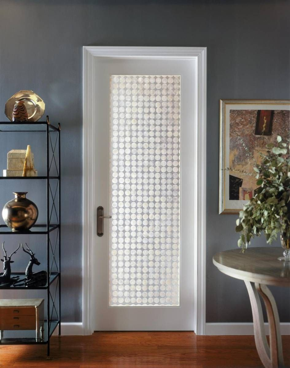 Prehung Interior French Doors With Frosted Glass