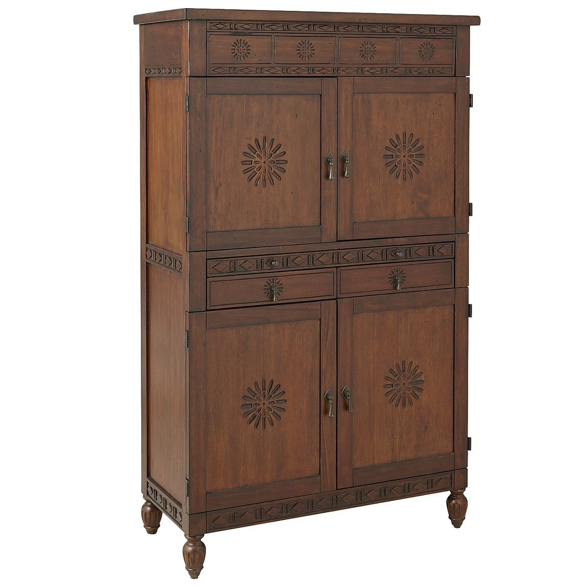 Beautiful Pier One Bar Cabinet
