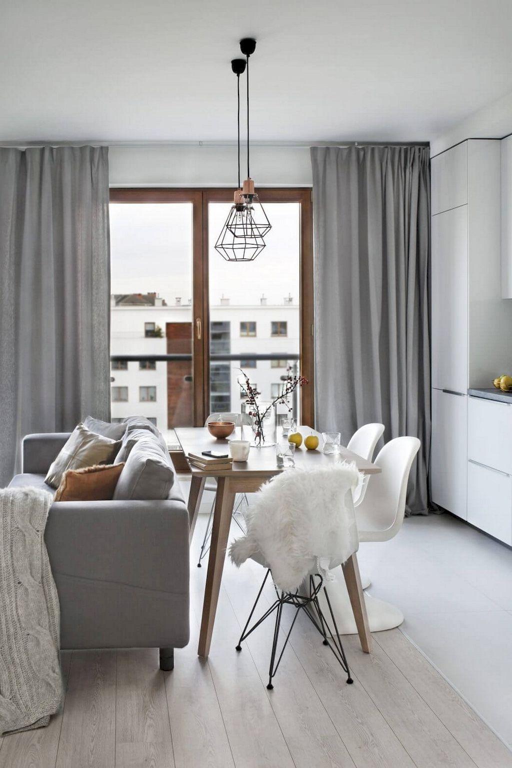 75 Stunning Scandinavian Living Room Decorating Ideas | Scandinavian ...
