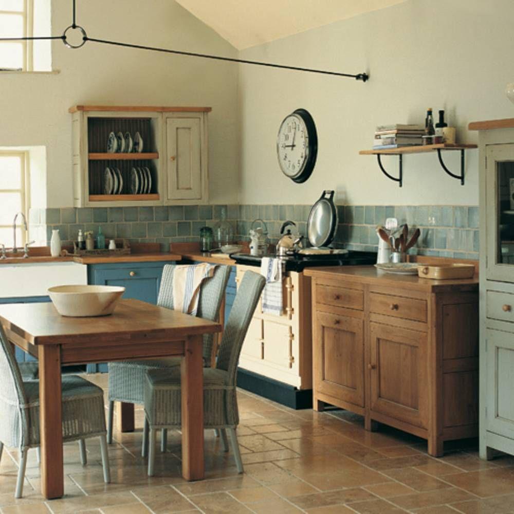 Une cuisine campagne qui sent bon la Provence | Airy Country ...