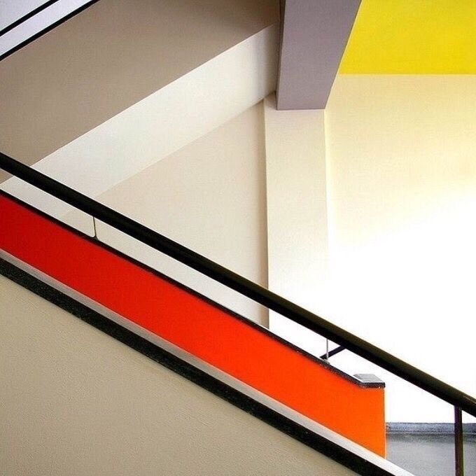 School Art Design Germany Staircase Bauhaus Movement With