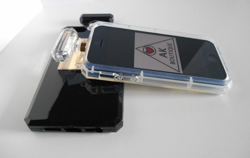 Designer Perfume Bottle iPhone Case via AK Boutique. Click on the image to see more!