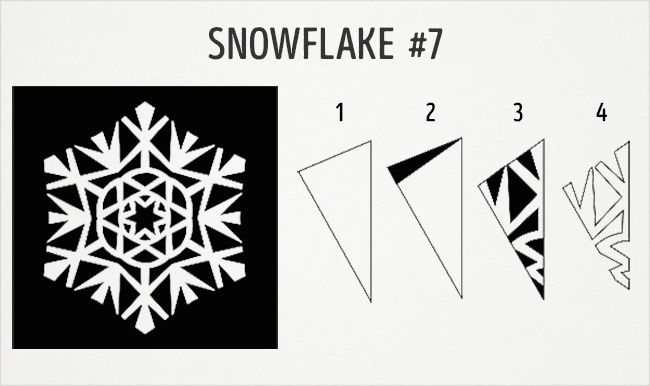 20 fantastic paper snowflake designs you can make with your kids