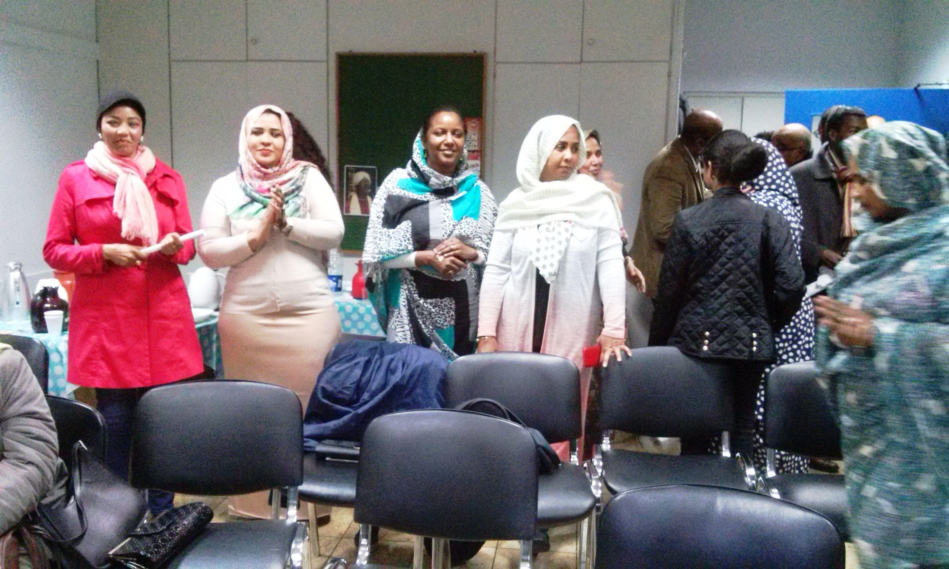 احتفال مجموعة دعم جامعة الأحفاد بلندن