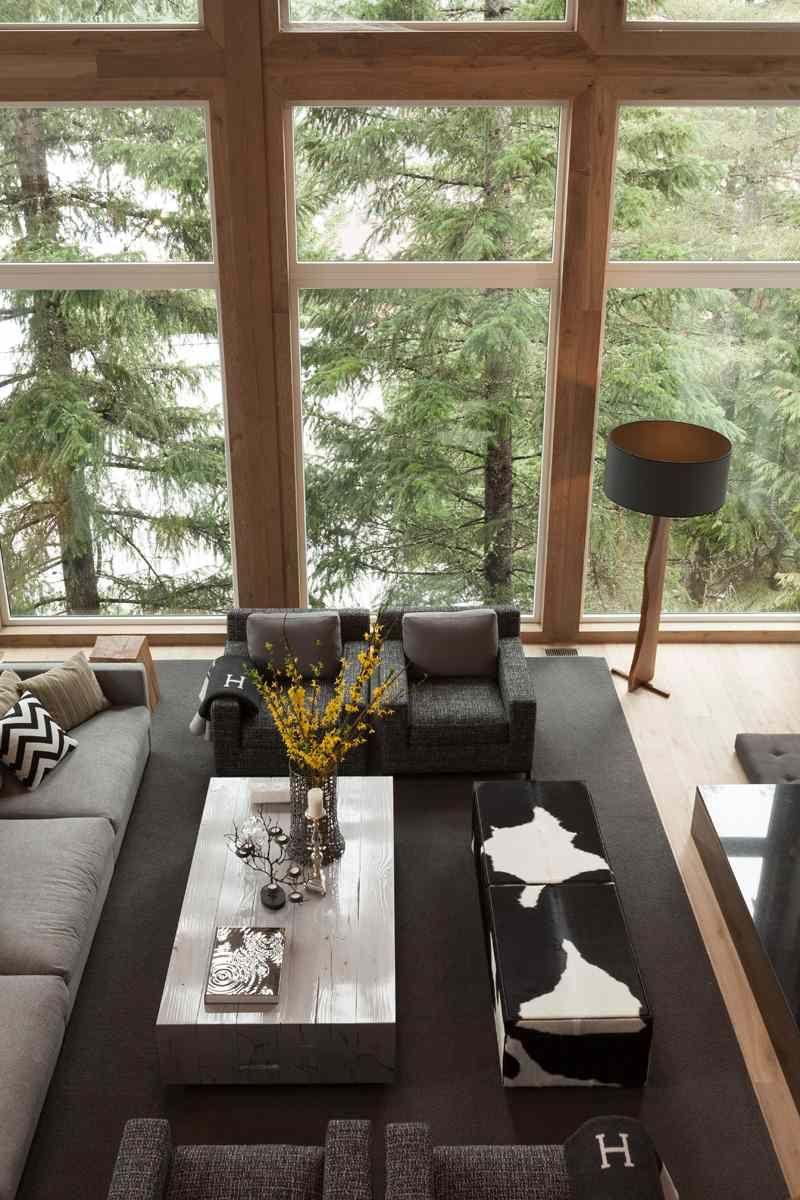 Am nagement int rieur moderne d 39 une maison au canada next house chalet interior luxury home - Amenagement interieur d une maison ...