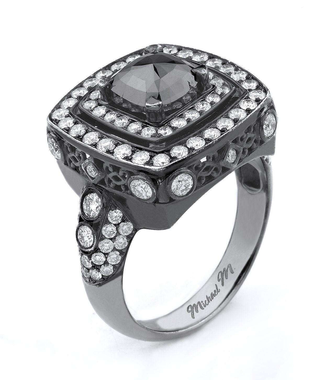 R112 #blackdiamonds #MichaelM #noircollection