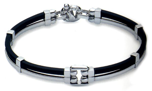 b1584ff7c08bd Baraka Men's 18ct White Gold Bracelet $3439.00 limited | Designer ...