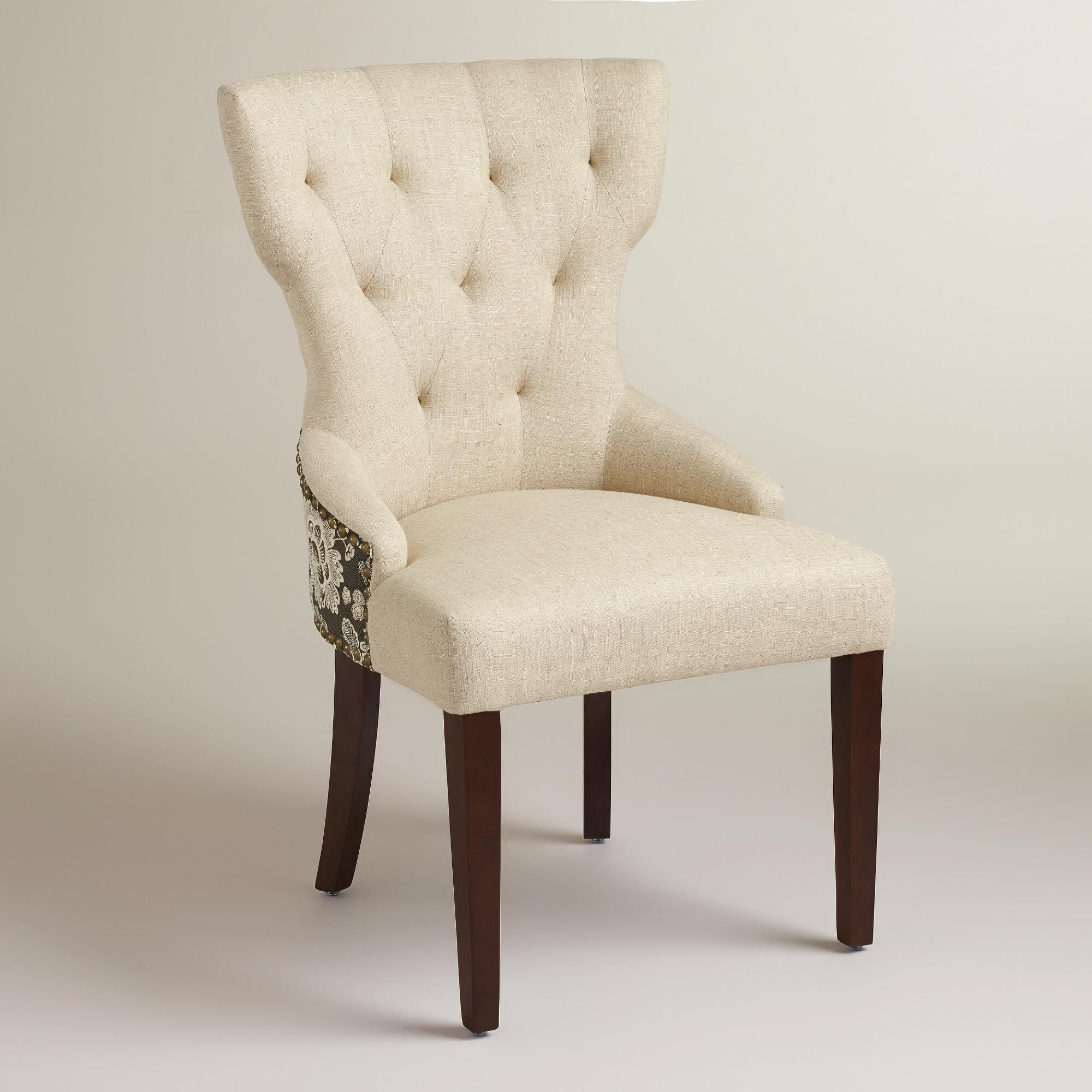 Black Floral and Linen Maxine Dining Chair Upholstery  : 9f6ddc8e5af6db651da960ae39a0e24f from www.pinterest.com size 2000 x 2000 jpeg 299kB