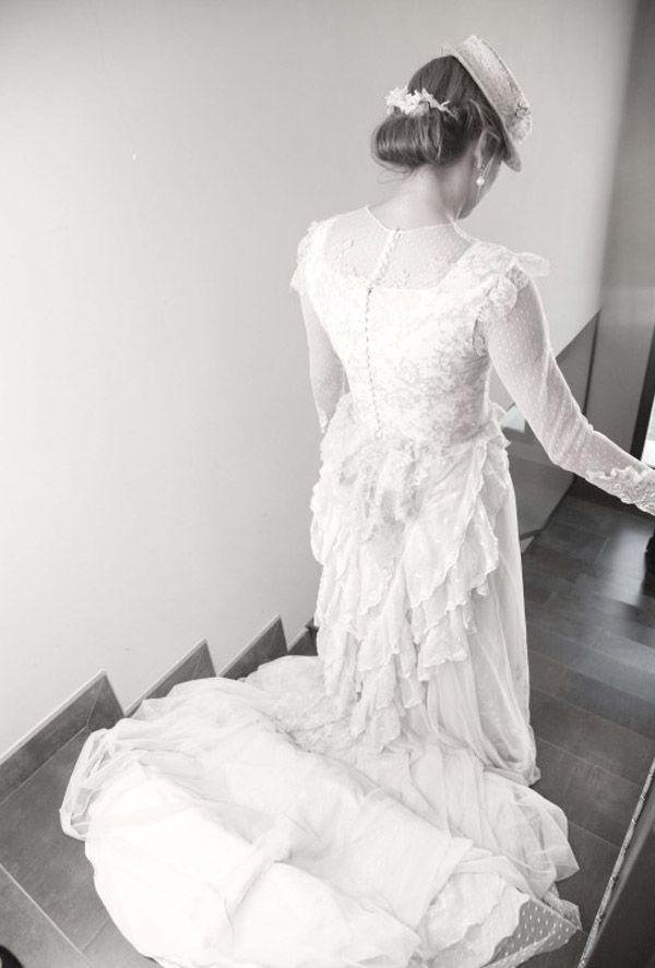 novias con canotier | sombreros de copa, complementos novia y venecianas