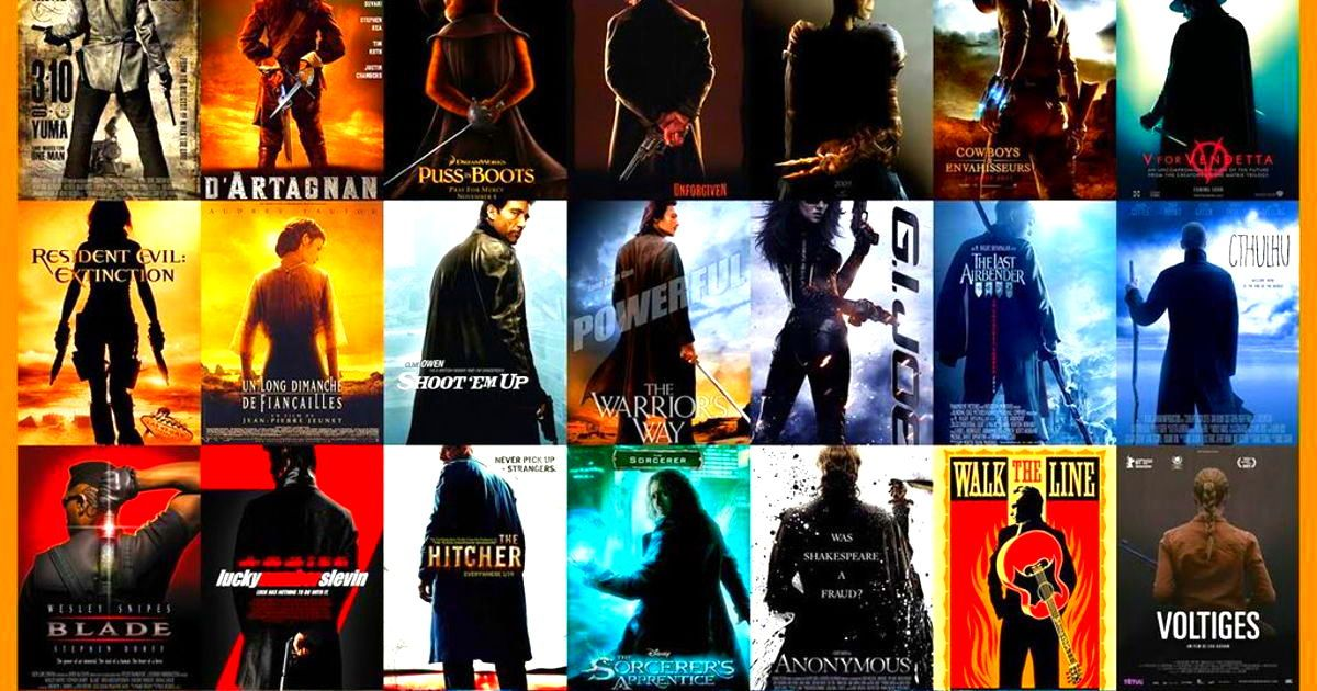 Ever Notice Some Movie Posters Look The Same Here Are The 13 Most