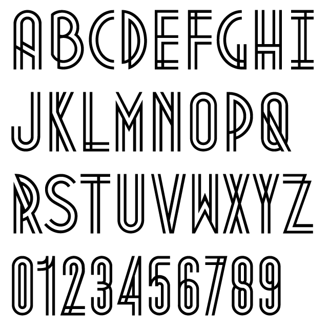 Cool Alphabet Fonts To Draw on Latest Different Styles Of Writing