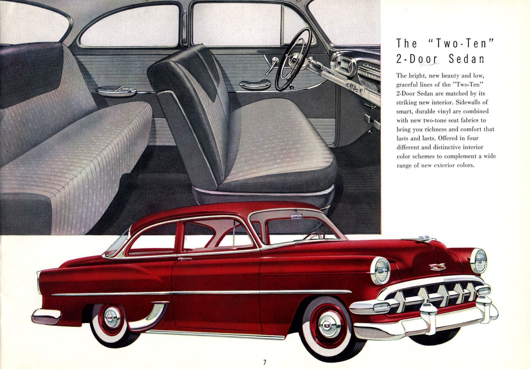 1954 Chevrolet Vintage Car Ads Pinterest Bel Air 4 Door My Belair