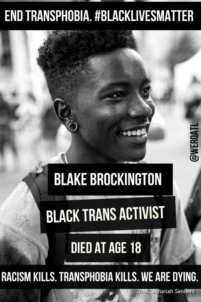 9f6e05a18c5f236f57e34e66e866f0d9 blackqueerfuture black trans lives matter!meme creator dean