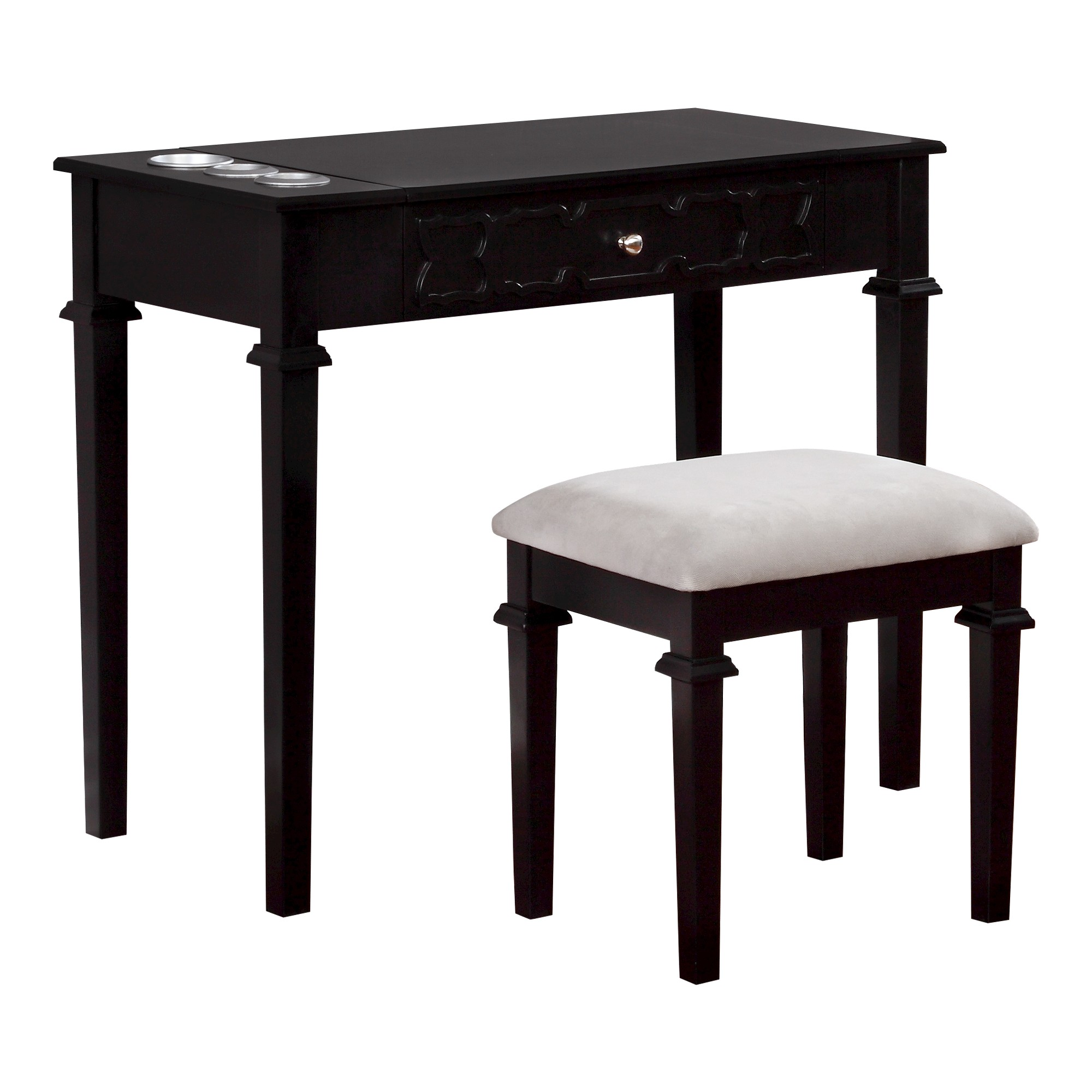 Anna vanity set black linon vanities anna and products