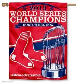 World Champions RED SOX 2013