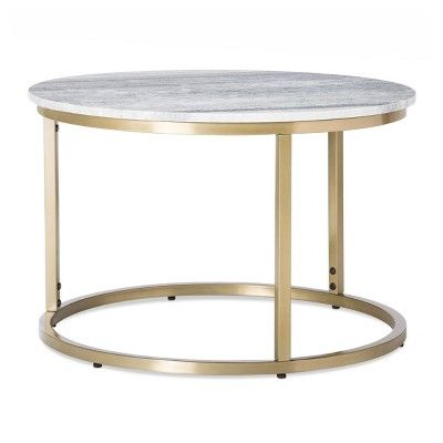 Pin By Annie Bonilla On For The Living Room Marble Top Coffee Table Coffee Table Target Coffee Table