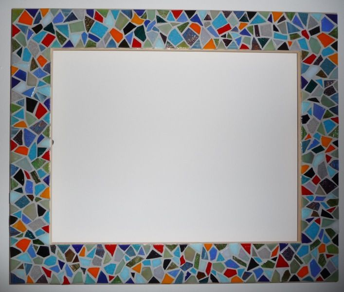 mosaic picture frame a detailed explanation for the beginner - Mosaic Picture Frames