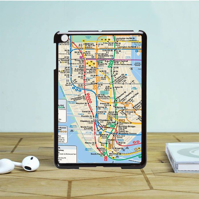 Nyc Subway Map iPad Mini 2 Case