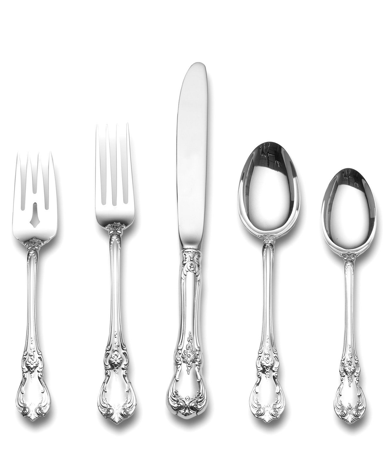 Towle Old Master Sterling Silver 5 Piece Place Setting