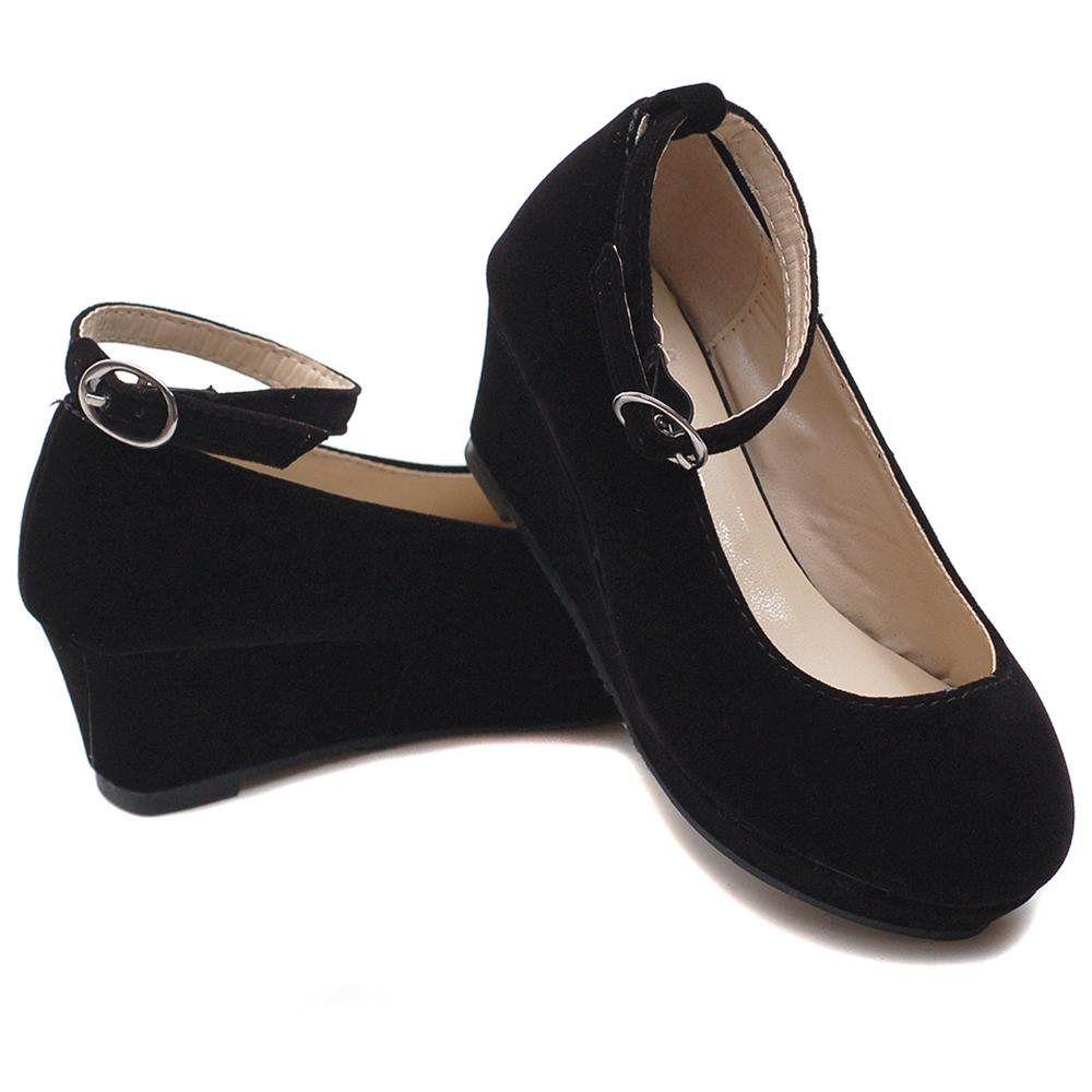 Black Dress Shoes For Little Girls
