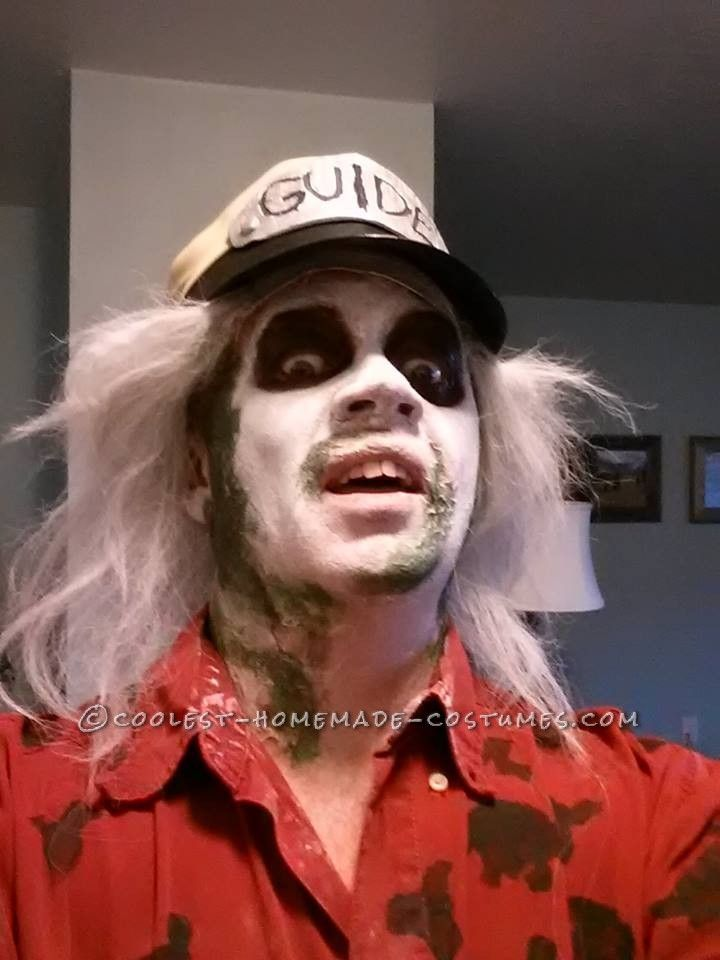 sc 1 st  Pinterest & Cool DIY Beetlejuice Costume - The One and Only Taxi Driver