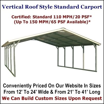 Metal Carport Depot Llc Provides Steel Carport Kits Metal Carport