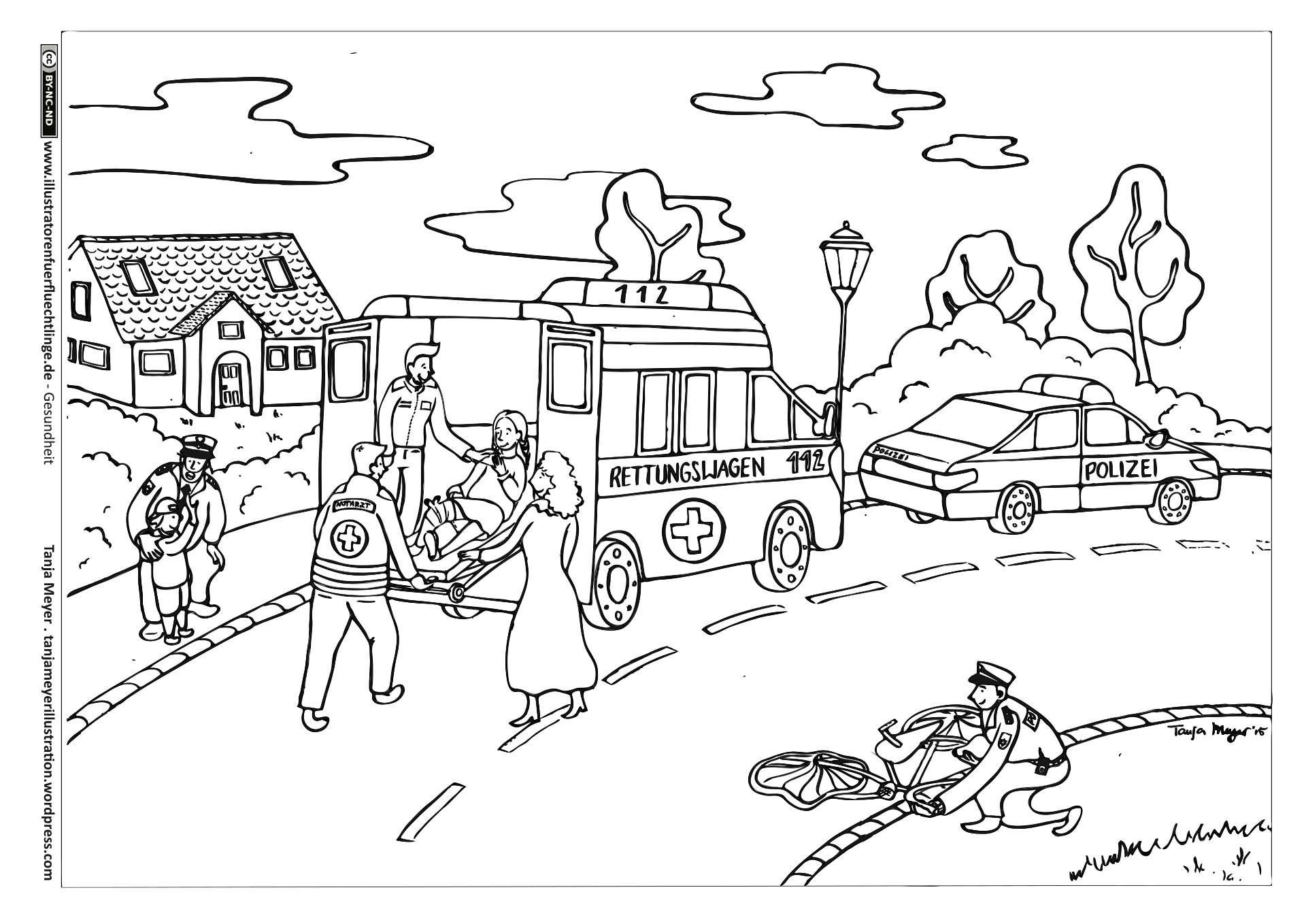 Download als PDF: Gesundheit – Krankenwagen Fahrrad Unfall – Meyer ...