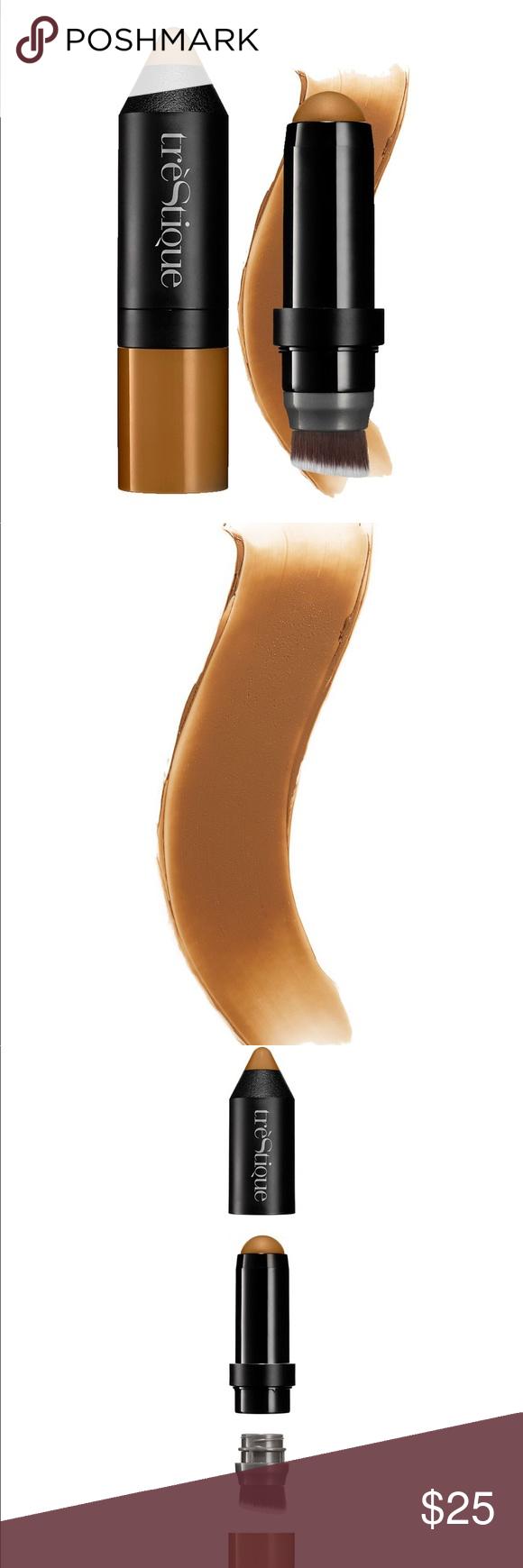 trèstique contour bronzer stick. •i swatched this on the