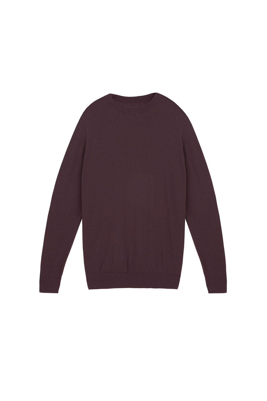 Fine Knit Crew Neck Sweater