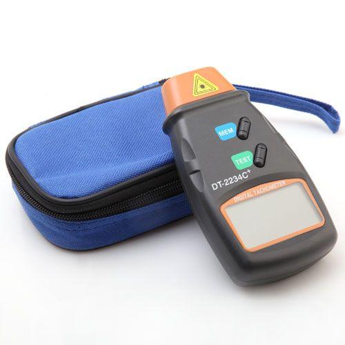 Digital Laser Photo Tachometer Non Contact RPM Tach Tool Meter