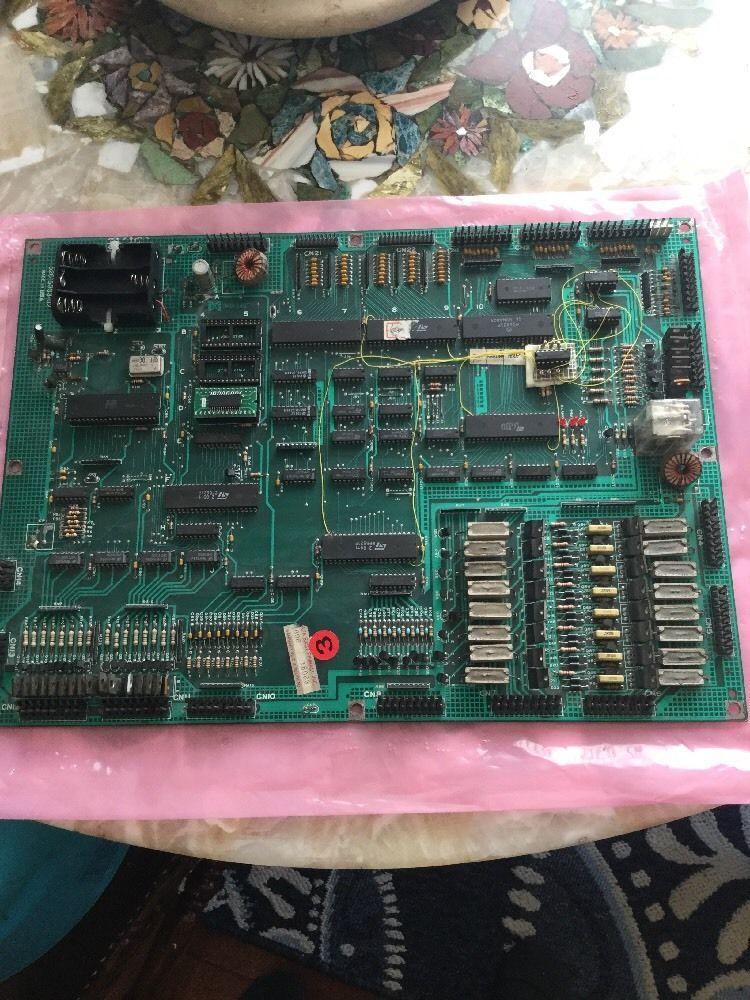 Data East Cpu Mpu Pcb Circuit Board 520-5003-03 Rebuilt 100
