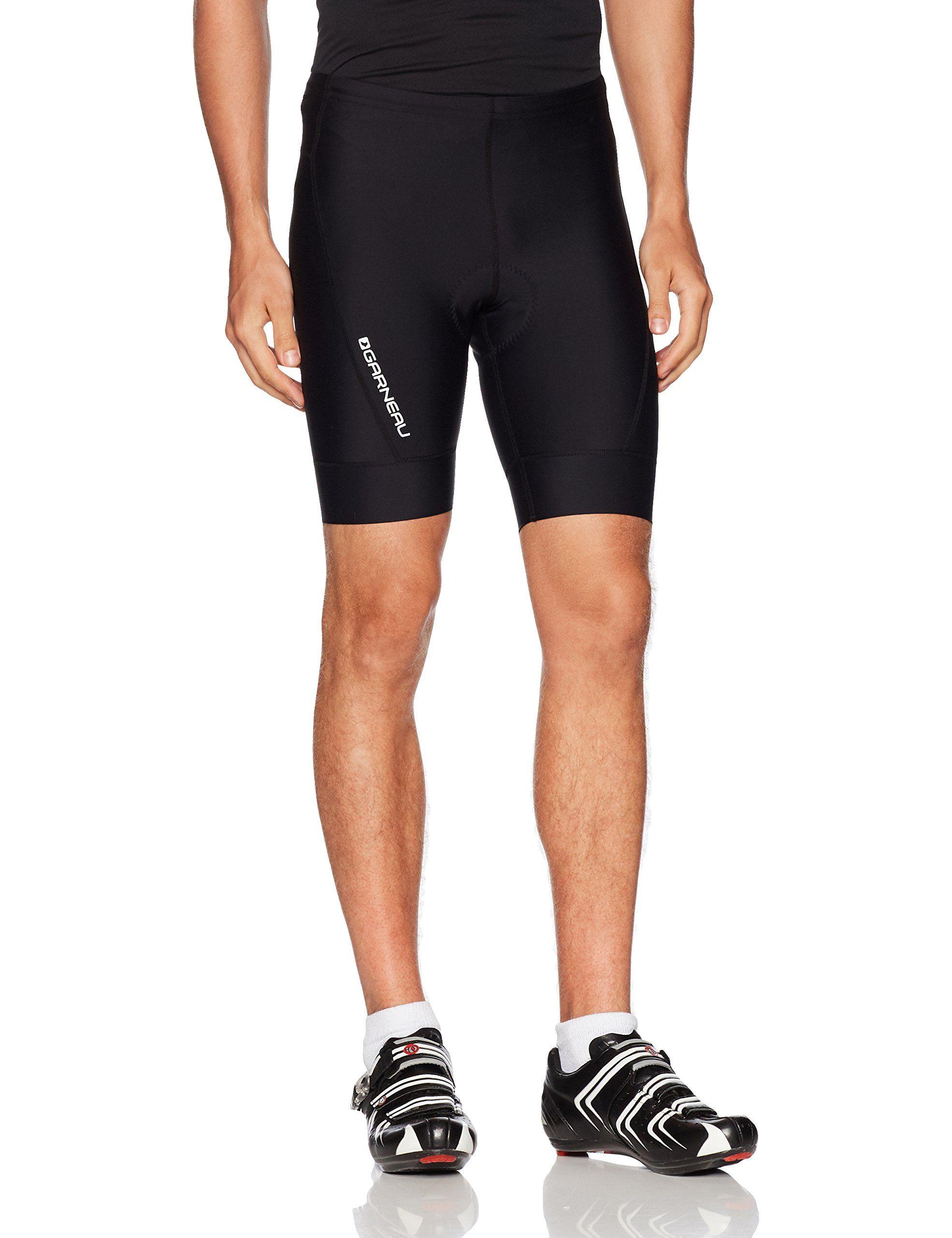 Louis Garneau Ride Gel Cycling Shorts Black Large Cycling
