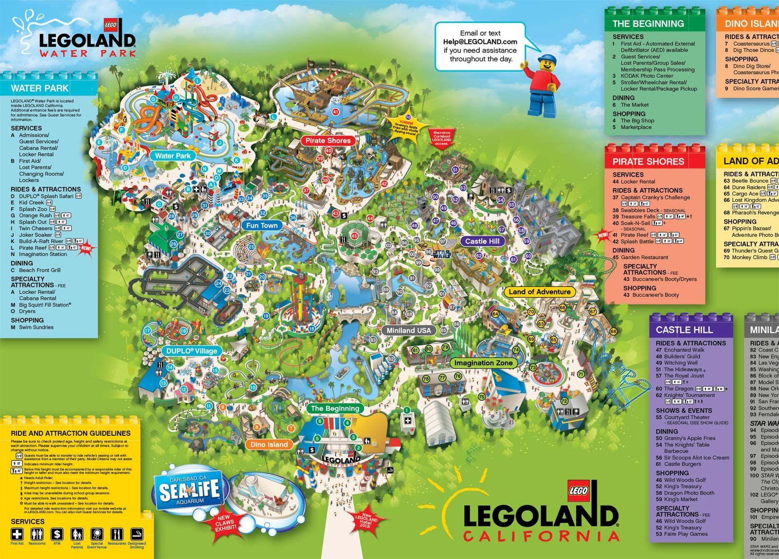 Printable Disneyland Map  Google Search Vegas Pinterest - Disneyland usa location map