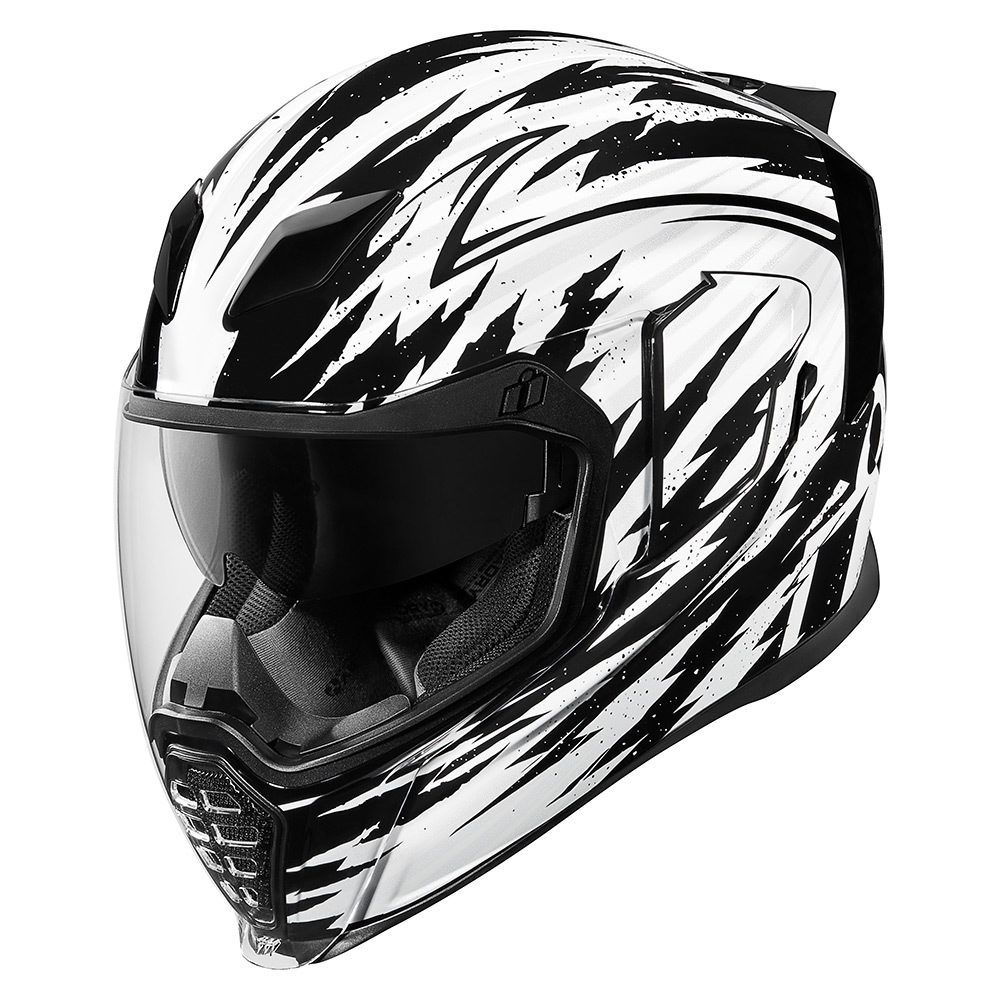 Fayder White Helmets Icon Motosports Ride Among Us
