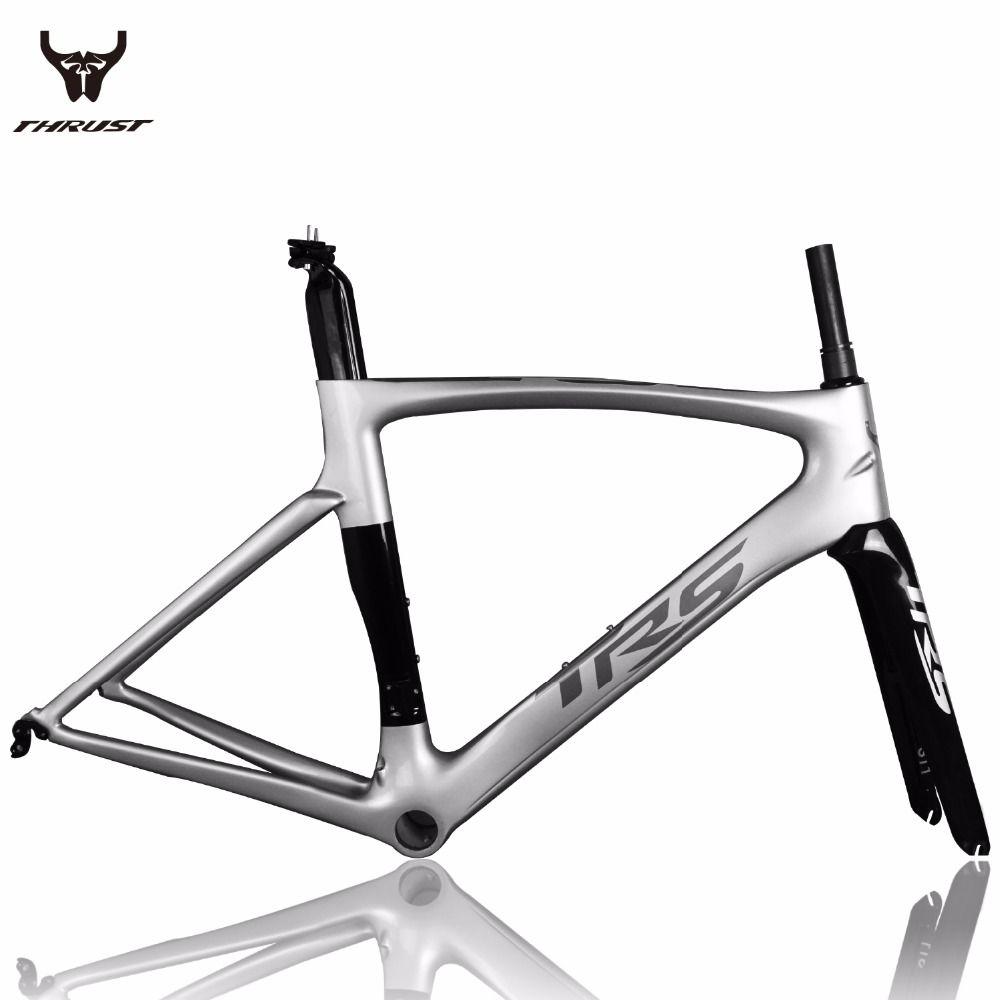 Brand THRUST Carbon Bike Frame Alloy Color Design Bicycle Frames ...