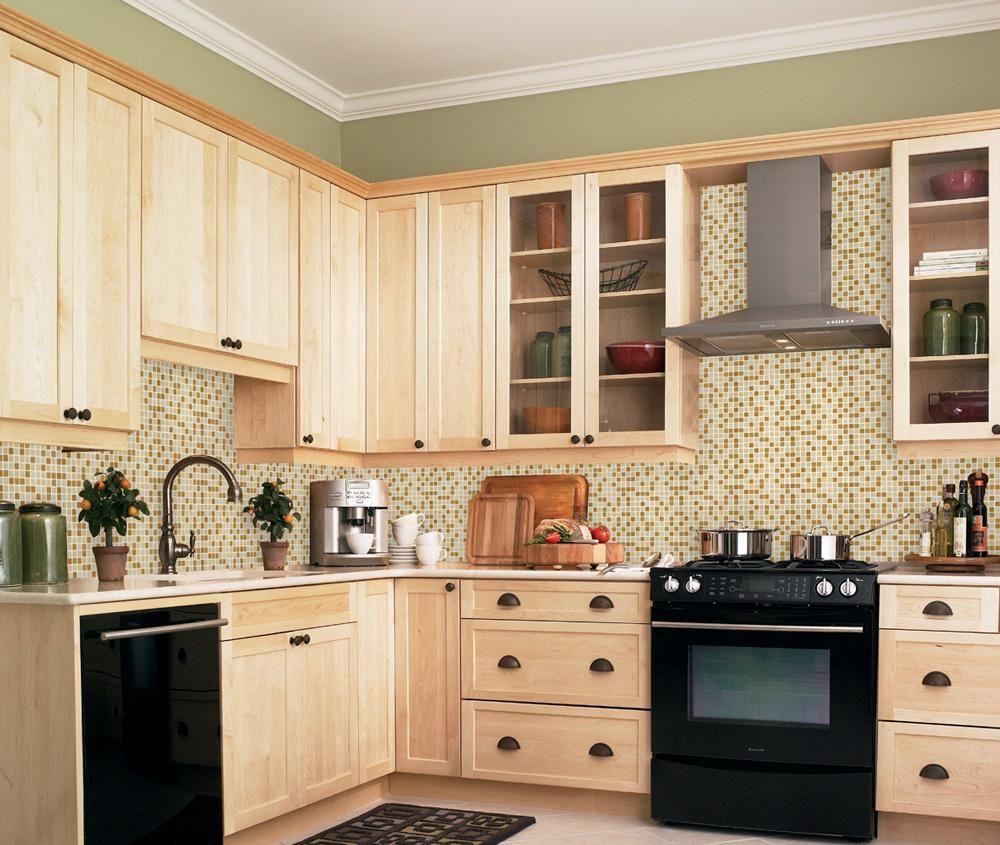 BuildDirect®: Glass Stone Blend Mosaic Tile Glass Stone Blends Honey ...