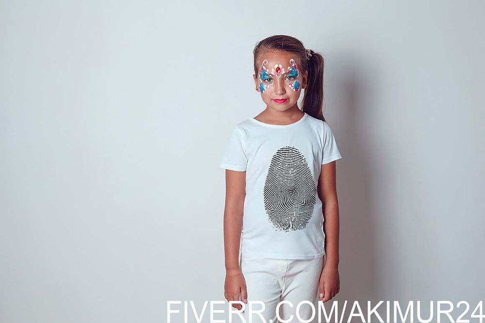 Download Realistic Kids T Shirts Mock Ups Kt 2 Kids Tshirts Tshirt Mockup Shirts