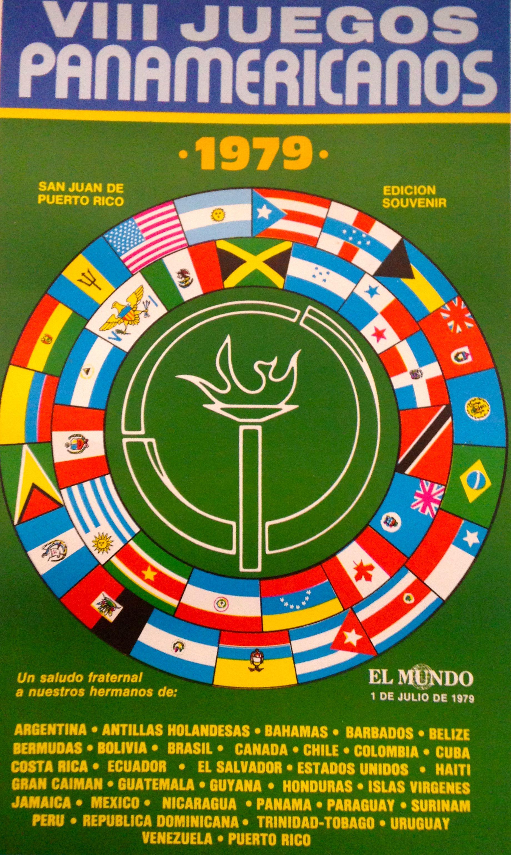 Cartel Juegos Panamericanos 1979 Cartel Periodico El