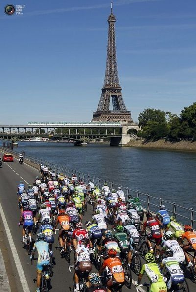 Tour de France...would love to be there.