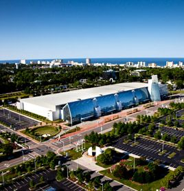 The Puerto Rico Convention Center District Where Business Meets Paradise Architecture Pinterest Centre