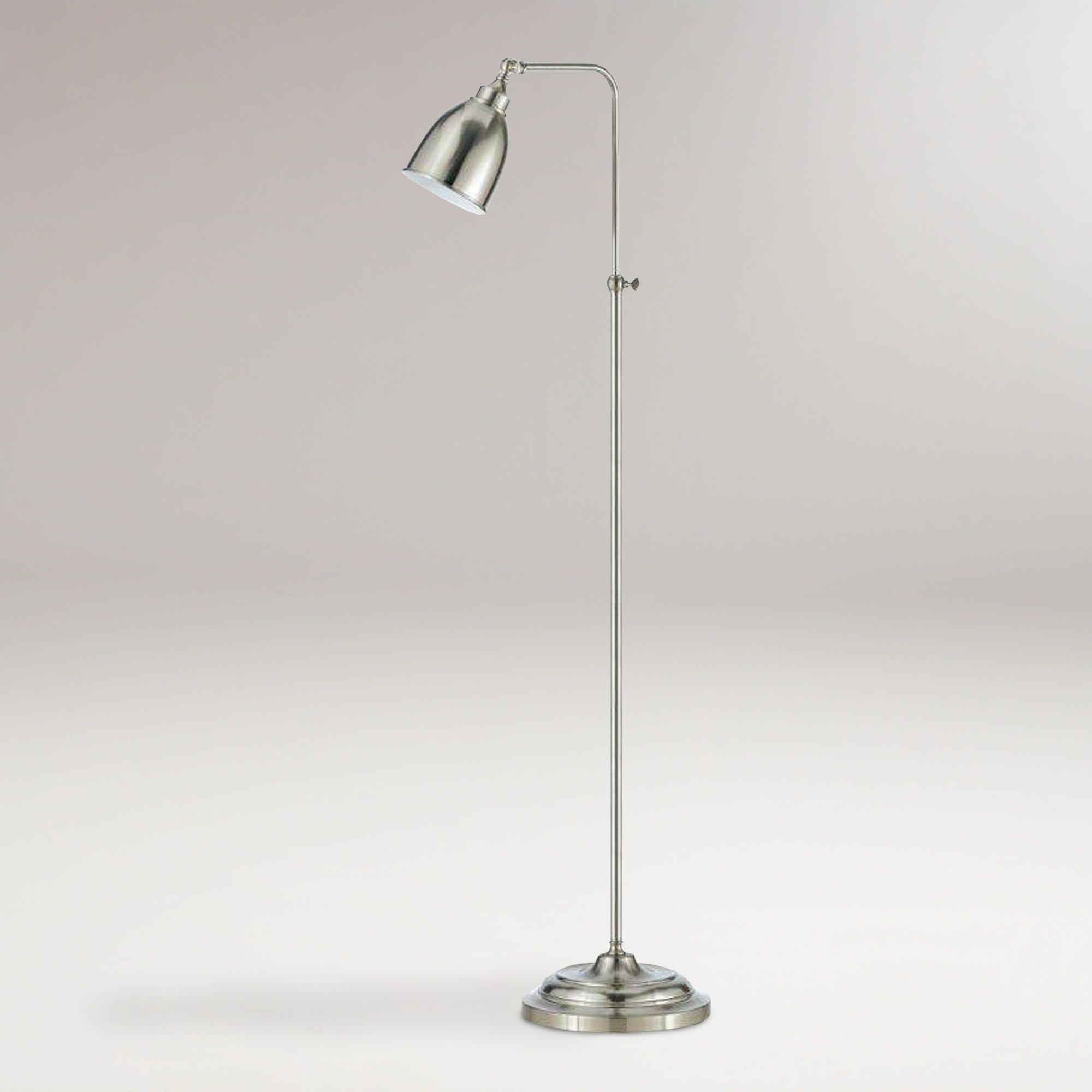 Brushed Steel Pharmacy Floor Lamp World Market