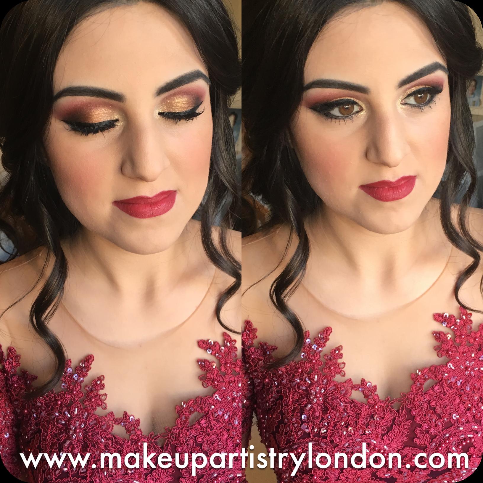 Turkish Bridal Make Up Hd Airbrush Make Up London Henna Party