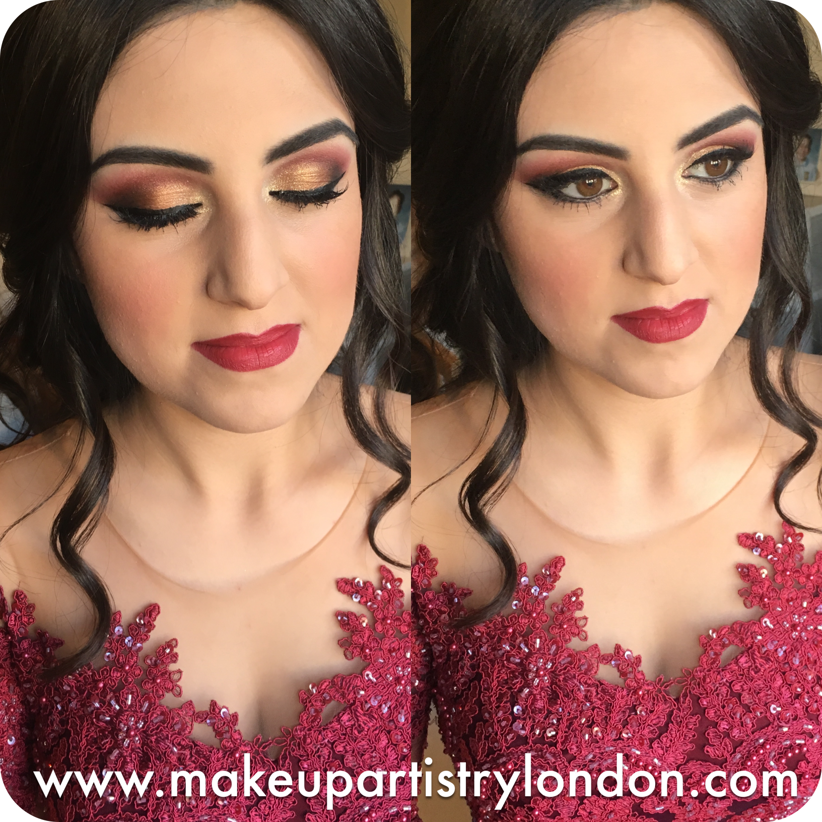 Henna Party London : Turkish bridal make up hd airbrush london