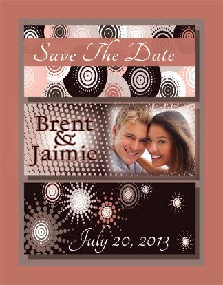 Save The Date Magnets or Cards Style 176 by TreasuredMoments1980